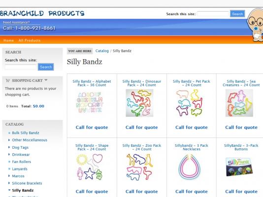 BCP Imports, LLC E-commerce Site